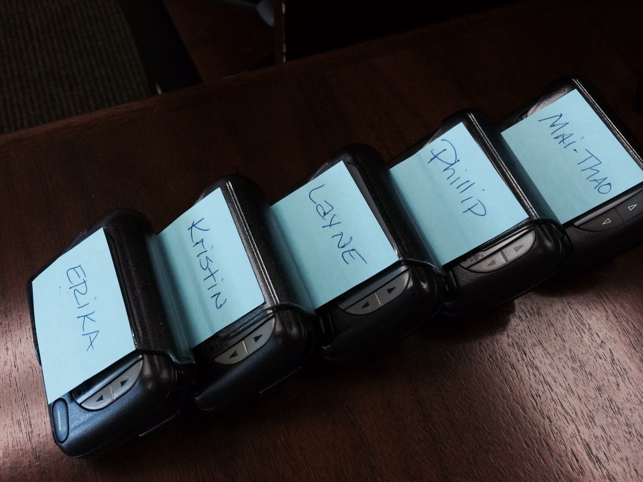 New Class Pagers