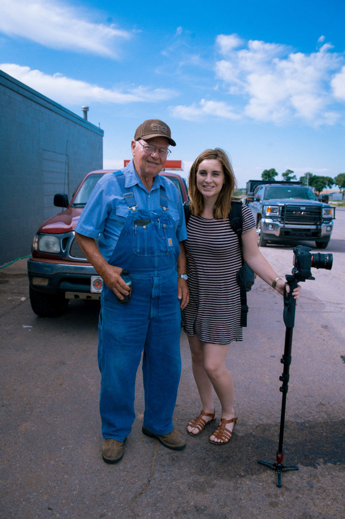 Tuffy and April, our videographer